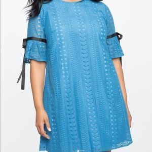 Eloquii Allover Lace Easy Tee Dress NEW w TAG 20
